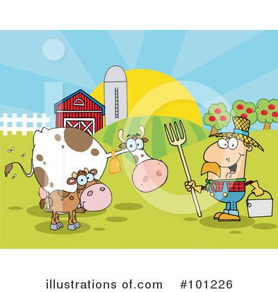 Cow Clipart #101226 by Hit Toon