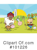 Farmer Clipart #101226 by Hit Toon