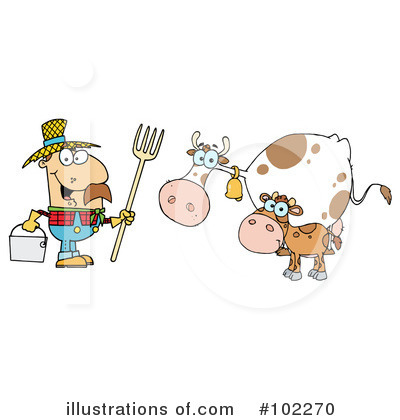 Cow Clipart #102270 by Hit Toon
