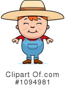 Royalty-Free (RF) farmer Clipart Illustration #1094981