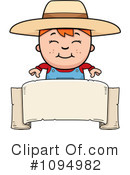 Royalty-Free (RF) Farmer Clipart Illustration #1094982