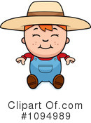 Royalty-Free (RF) Farmer Clipart Illustration #1094989
