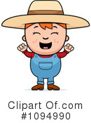 Royalty-Free (RF) Farmer Clipart Illustration #1094990