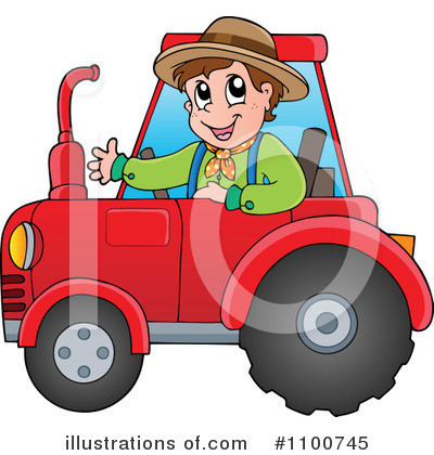 Farmer Clipart #1100745 by visekart