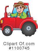 Royalty-Free (RF) Farmer Clipart Illustration #1100745
