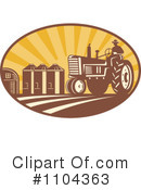 Royalty-Free (RF) farmer Clipart Illustration #1104363