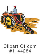 Royalty-Free (RF) farmer Clipart Illustration #1144284