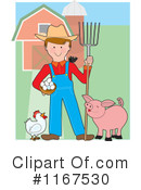 Royalty-Free (RF) farmer Clipart Illustration #1167530