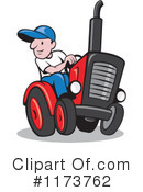 Royalty-Free (RF) Farmer Clipart Illustration #1173762