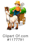 Royalty-Free (RF) Farmer Clipart Illustration #1177791