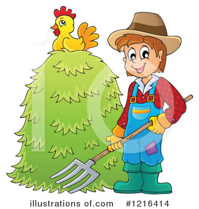Farmer Clipart #1216414 by visekart