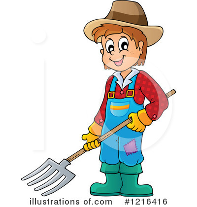 Farmer Clipart #1216416 by visekart