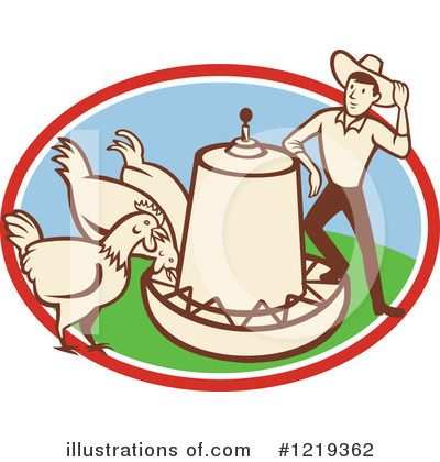 Rooster Clipart #1219362 by patrimonio