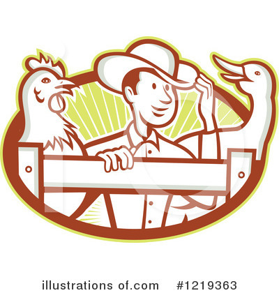 Farmer Clipart #1219363 by patrimonio