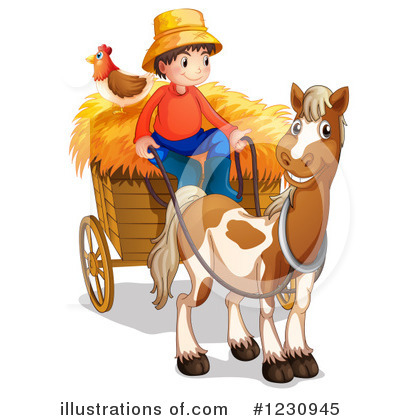 Farmer Clipart #1230945 by Graphics RF