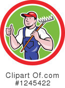 Farmer Clipart #1245422 by patrimonio