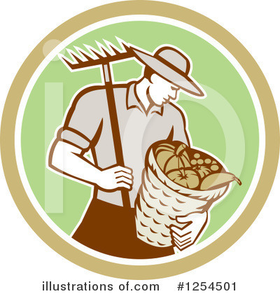 Harvest Clipart #1254501 by patrimonio
