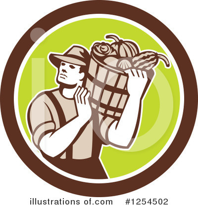 Harvest Clipart #1254502 by patrimonio