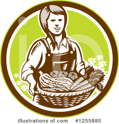 Harvest Clipart #1255885 by patrimonio