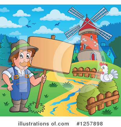 Windmill Clipart #1257898 by visekart