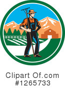 Farmer Clipart #1265733 by patrimonio