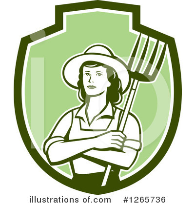 Farmer Clipart #1265736 by patrimonio