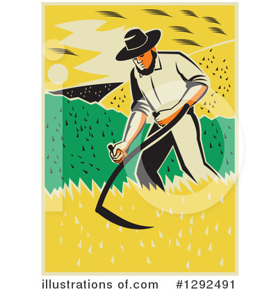 Farmer Clipart #1292491 by patrimonio