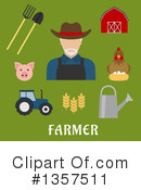 Farmer Clipart #1357511 by Vector Tradition SM