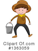 Farmer Clipart #1363059 by Graphics RF