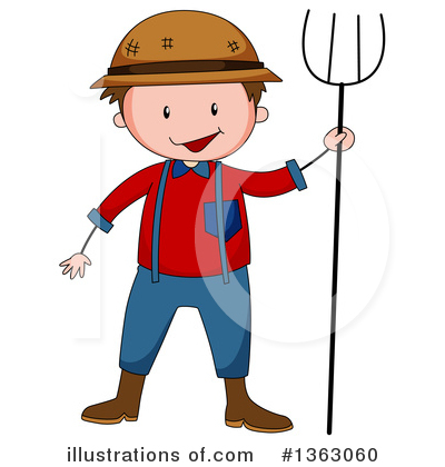 Farmer Clipart #1363060 by Graphics RF