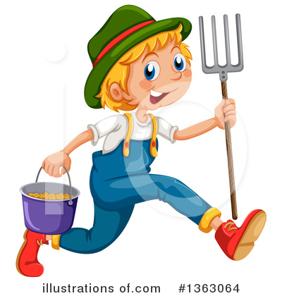 Farmer Clipart #1363064 by Graphics RF
