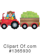 Royalty-Free (RF) Farmer Clipart Illustration #1365930