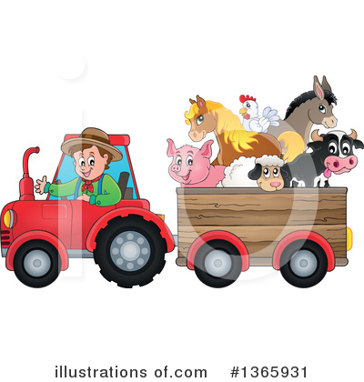 Farmer Clipart #1365931 by visekart