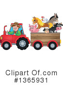 Royalty-Free (RF) Farmer Clipart Illustration #1365931