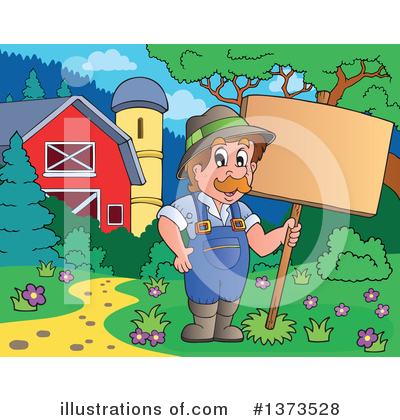 Farmer Clipart #1373528 by visekart