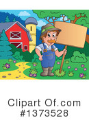Royalty-Free (RF) Farmer Clipart Illustration #1373528