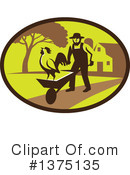 Royalty-Free (RF) Farmer Clipart Illustration #1375135