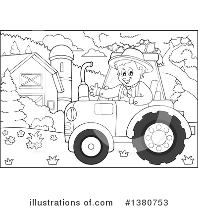 Farmer Clipart #1380753 by visekart