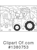 Royalty-Free (RF) Farmer Clipart Illustration #1380753