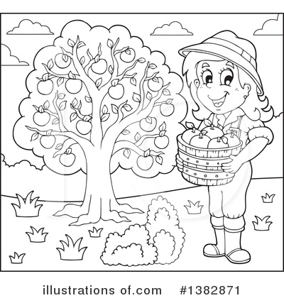 Farmer Clipart #1382871 by visekart