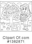 Royalty-Free (RF) Farmer Clipart Illustration #1382871