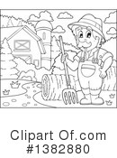 Royalty-Free (RF) Farmer Clipart Illustration #1382880