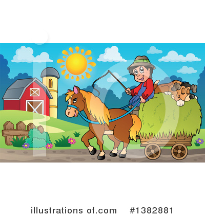 Farmer Clipart #1382881 by visekart