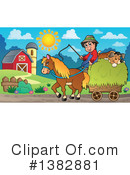 Royalty-Free (RF) Farmer Clipart Illustration #1382881