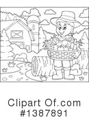 Royalty-Free (RF) Farmer Clipart Illustration #1387891