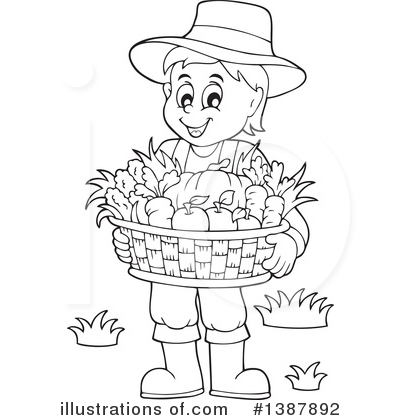 Produce Clipart #1387892 by visekart
