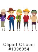 Farmer Clipart #1396954 by BNP Design Studio