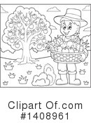 Royalty-Free (RF) Farmer Clipart Illustration #1408961