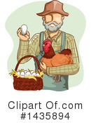 Farmer Clipart #1435894 by BNP Design Studio