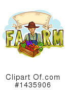 Farmer Clipart #1435906 by BNP Design Studio